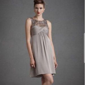 Anthropologie BHLDN Quillaree Tracery Dress 0